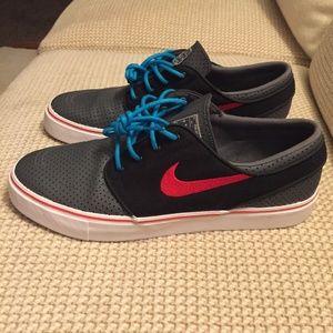 Nike Stefan Janoski Premium SB Zoom Skate Sneaker
